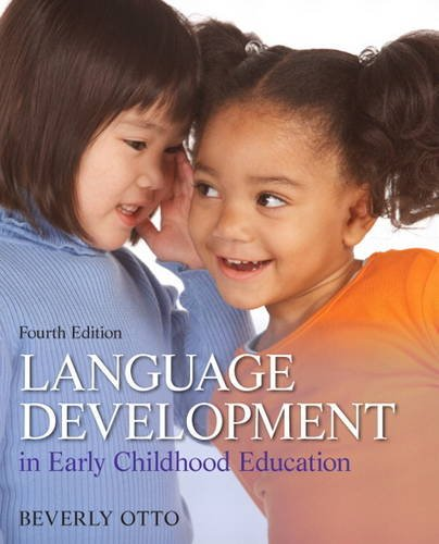 Language Development in Early Childhood Education  4th 2014 edition cover