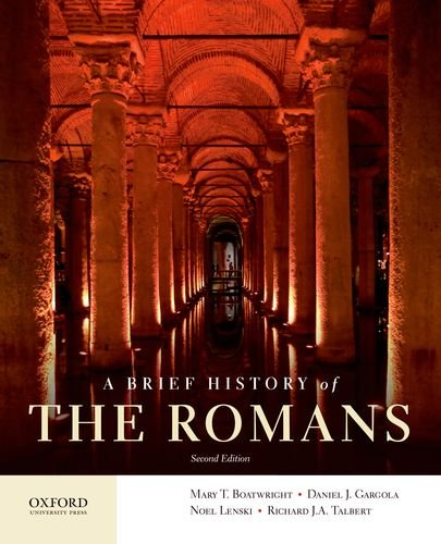 A Brief History of the Romans:   2013 edition cover