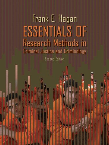 Essentials of Research Methods in Criminal Justice and Criminology  2nd 2007 9780205507559 Front Cover