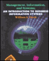 Management, Information and Systems An Introduction to Business Information Systems  1995 9780314043559 Front Cover