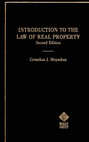 Introduction to Real Property : Introduction to the Law 2nd 1997 (Reprint) 9780314605559 Front Cover