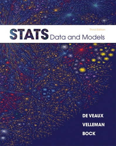 Stats Data and Models 3rd 2012 (Revised) edition cover
