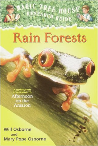 Rain Forests A Nonfiction Companion to Afternoon on the Amazon  2001 edition cover