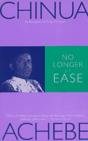No Longer at Ease  N/A edition cover