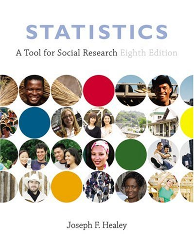 Statistics A Tool for Social Research 8th 2009 (Revised) edition cover