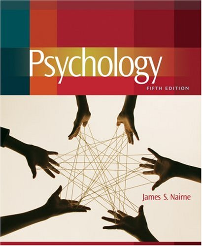 Psychology  5th 2009 9780495504559 Front Cover