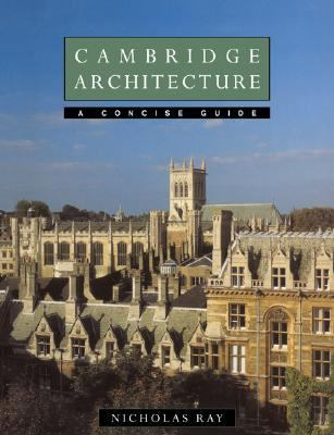 Cambridge Architecture A Concise Guide  1994 9780521458559 Front Cover