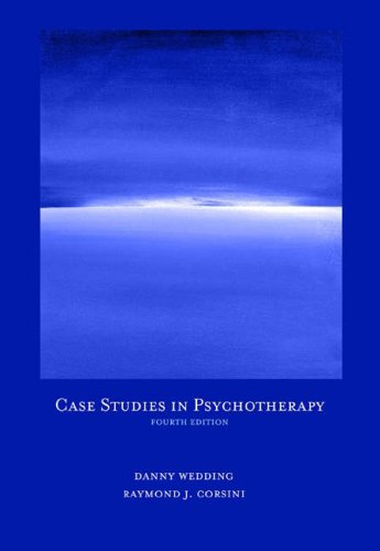 Case Studies in Psychotherapy  4th 2005 (Revised) edition cover
