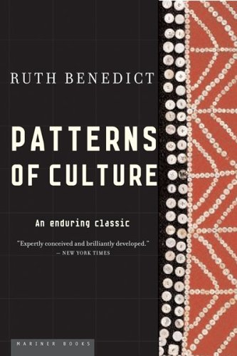 Patterns of Culture   1934 edition cover