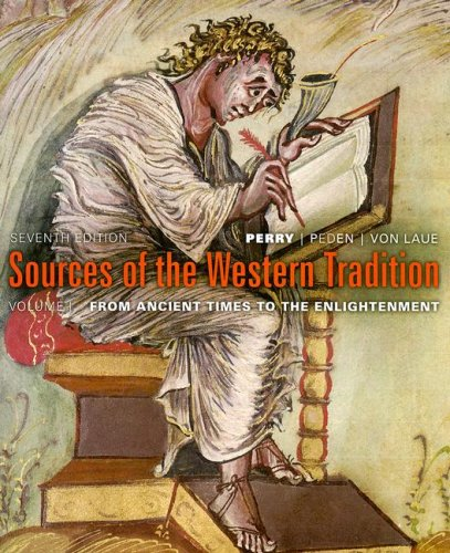 Sources of the Western Tradition From Ancient Times, to the Enlightenment 7th 2008 edition cover