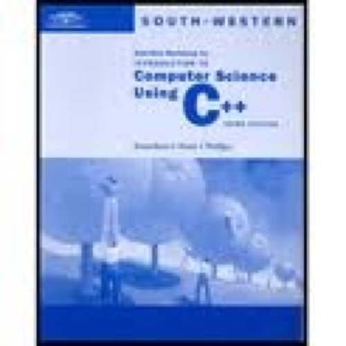 Computer Science Using C++  3rd 2002 edition cover