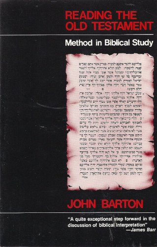 Reading the Old Testament Method in Biblical Study N/A 9780664245559 Front Cover