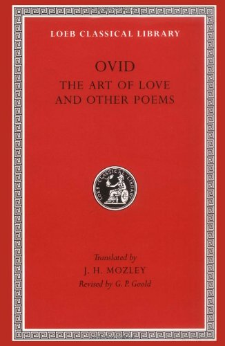 Ovid - The Art of Love and Other Poems  2nd 1979 edition cover