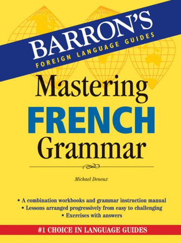 Mastering French Grammar   2007 edition cover
