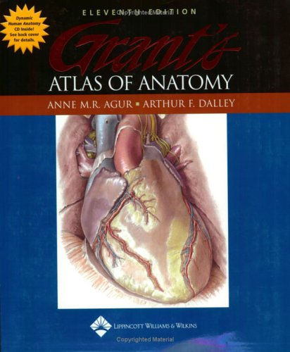 Grant's Atlas of Anatomy  11th 2005 (Revised) edition cover