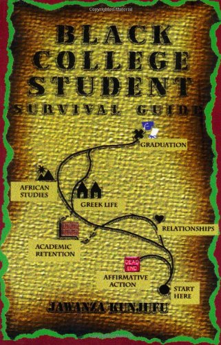 Black College Student Survival Guide  N/A 9780913543559 Front Cover