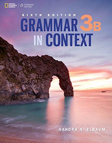 Grammar in Context 3b: Split Edition  2015 edition cover