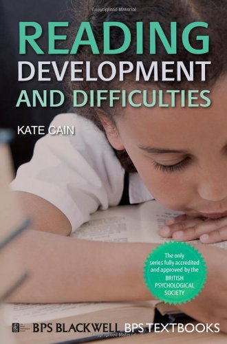 Reading Development and Difficulties   2010 edition cover