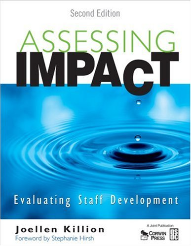 Assessing Impact Evaluating Staff Development 2nd 2008 edition cover