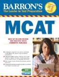 Barron's New MCAT with CD-ROM  2nd 2014 (Revised) edition cover