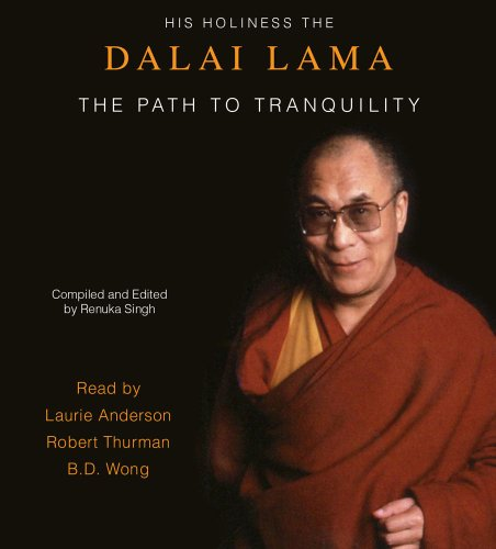 The Path to Tranquility: Daily Meditations by the Dalai Lama  2011 edition cover