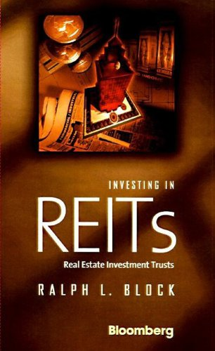 Investing in REITs Real Estate Investment Trusts  1998 9781576600559 Front Cover