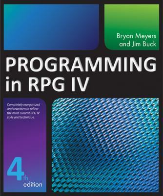 Programming in RPG  4th 2015 edition cover