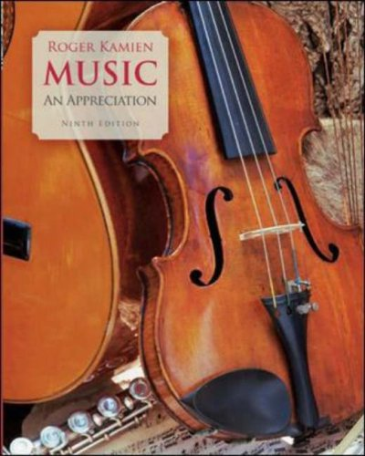 Music An Appreciation 9th 2008 (Revised) edition cover