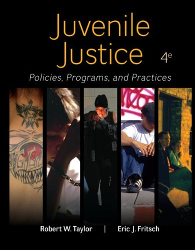 Juvenile Justice: Policies, Programs, & Practices  2014 edition cover