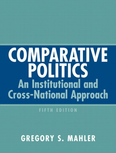 Comparative Politics An Institutional and Cross-National Approach 5th 2008 edition cover