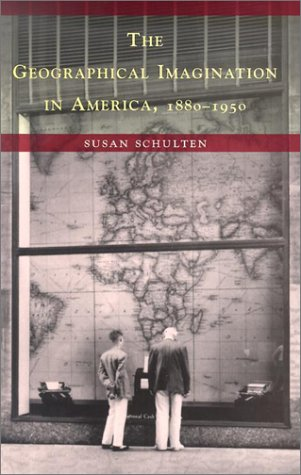 Geographical Imagination in America, 1880-1950   2001 edition cover
