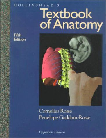 Hollinshead's Textbook of Anatomy  5th 1997 (Revised) edition cover