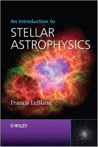 Introduction to Stellar Astrophysics   2010 edition cover