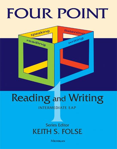 Four Point Reading-Writing 1 Intermediate English for Academic Purposes  2011 edition cover