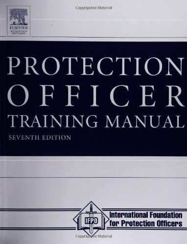Protection Officer Training Manual  7th 2003 (Revised) edition cover