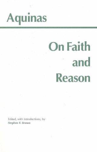 On Faith and Reason   1999 edition cover