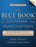 Blue Book of Grammar and Punctuation An Easy-To-Use Guide with Clear Rules, Real-World Examples, and Reproducible Quizzes 11th 2014 9781118785560 Front Cover