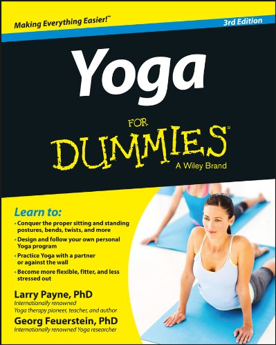 Yoga for Dummies�  3rd 2014 edition cover