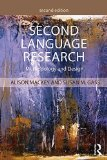 Second Language Research: Methodology and Design  2015 edition cover