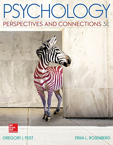 Psychology: Perspectives and Connections W/connect Plus Access Card  3rd 2015 9781259547560 Front Cover
