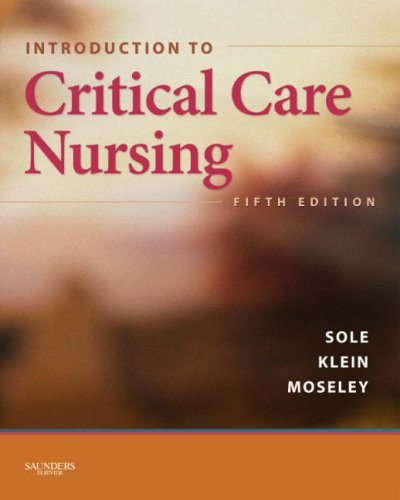 Introduction to Critical Care Nursing  5th 2009 edition cover