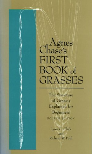 Agnes Chase's First Book of Grasses The Structure of Grasses Explained for Beginners 4th 1996 (Revised) edition cover