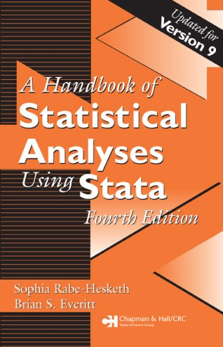 Handbook of Statistical Analyses Using Stata  4th 2006 (Revised) 9781584887560 Front Cover