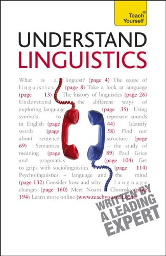 Teach Yourself - Understand Linguistics  2nd 2011 edition cover