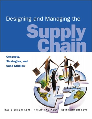 Design and Management Supplement Chain Concepts, Strategies and Cases 1st 2000 edition cover