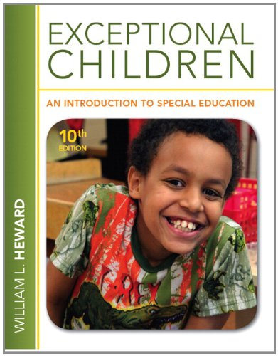 Exceptional Children An Introduction to Special Education 10th 2013 9780132862561 Front Cover