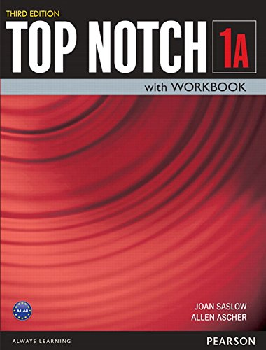 Top Notch 1 + Workbook:   2015 9780133810561 Front Cover