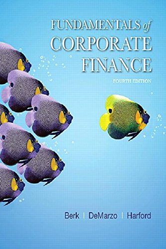 Fundamentals of Corporate Finance:   2017 9780134475561 Front Cover