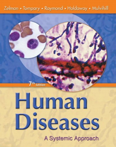 Human Diseases A Systemic Approach 7th 2010 edition cover