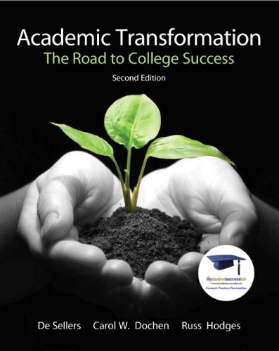 Academic Transformation The Road to College Success 2nd 2011 edition cover